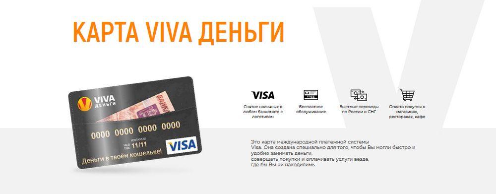 Карта VIVA Деньги