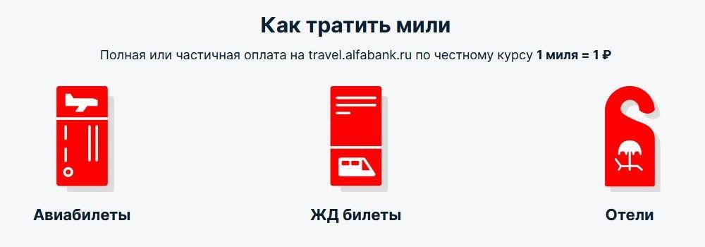 Как использовать бонусныемили по кредитной карте «Alfa Travel»
